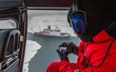 Virtual Reality on Ice