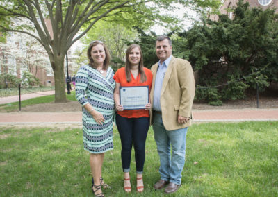 Engineering honors day ceremony at Mitchell Hall
