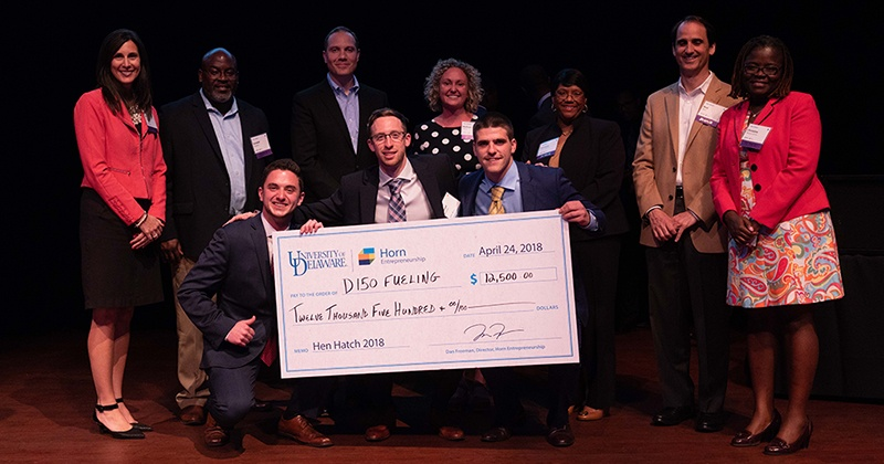 Fueling Start-Up Wins Grant from New Castle County