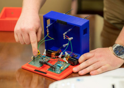 An electrical engineering senior design project