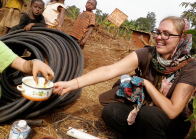 Students in Engineers Without Borders design and implement sustainable solutions in international developing communities