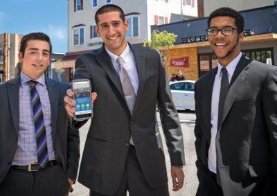 Student entrepreneurs create GeoSwap app