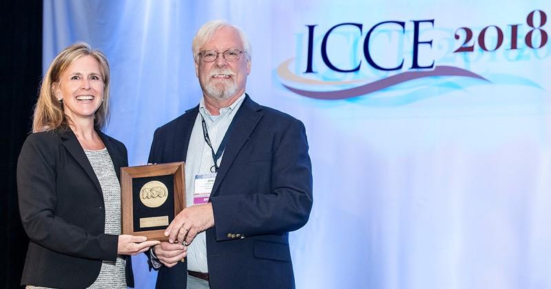 James Kirby wins International Coastal Engineering Award