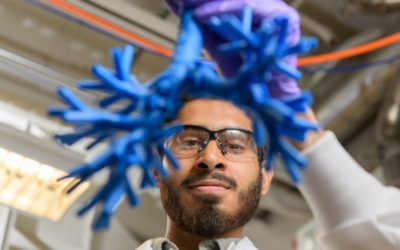 Azeem Sharief works on model to track pathways of inhaled medicine