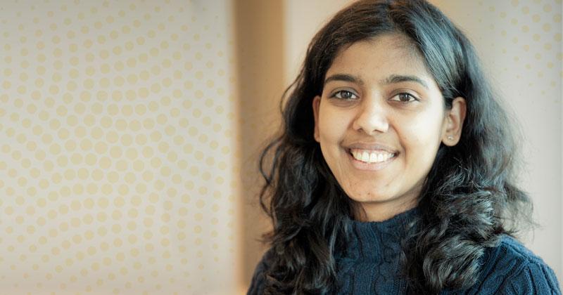 Student spotlight: Gowri Sriramagiri