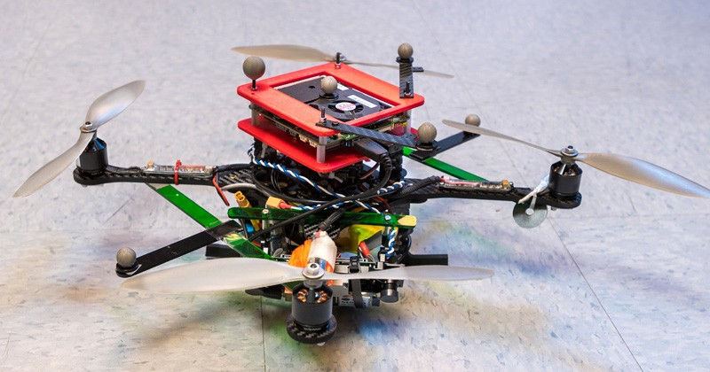 a drone is pictured