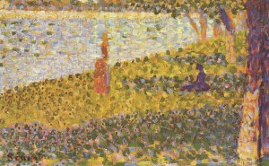 Femmes au bord de l'eau, Georges Seurat