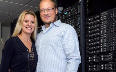 Couple Builds a Thriving IT Enterprise