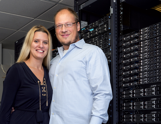 Couple Builds a Thriving IT Enterprise