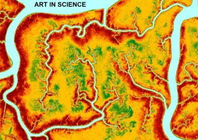 Digital Elevation Model of Bombay Hook Marsh