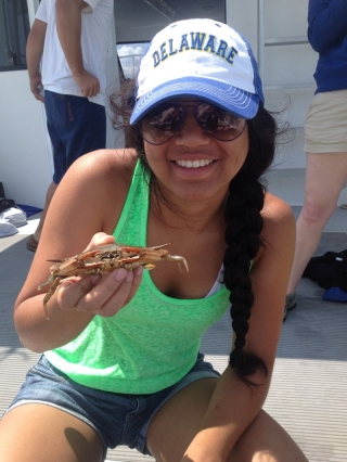 When she was in high school, Shailja Gangrade learned more about UD by participating in the summer camp called TIDE — Taking an Interest in Delaware's Estuary. Run by the College of Earth, Ocean and Environment's (CEOE), the camp gives high school students an opportunity to meet faculty members in the college and get a preview of what life would be like as an undergraduate student at UD.