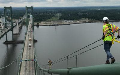 Rower Pursues Career as Bridge Inspector