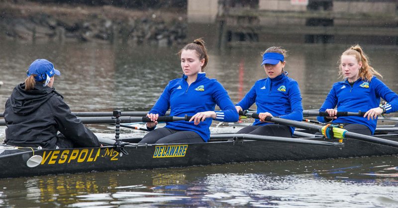 Delaware women's rowing team