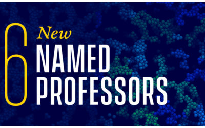 Named Professorships for Early Career Professors