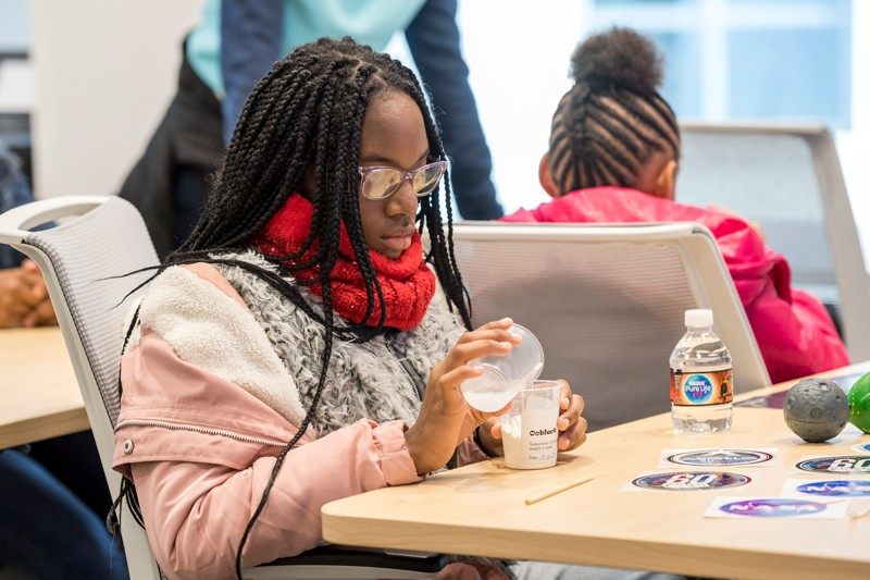 SHARING THE POWER OF STEM