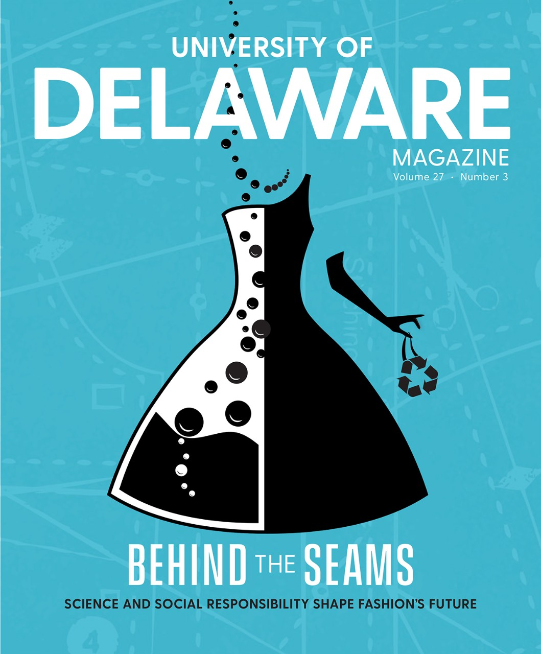 Cover of the UD Magazine