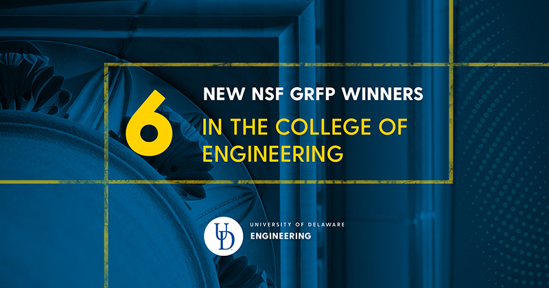 New NSF Graduate Research Fellows