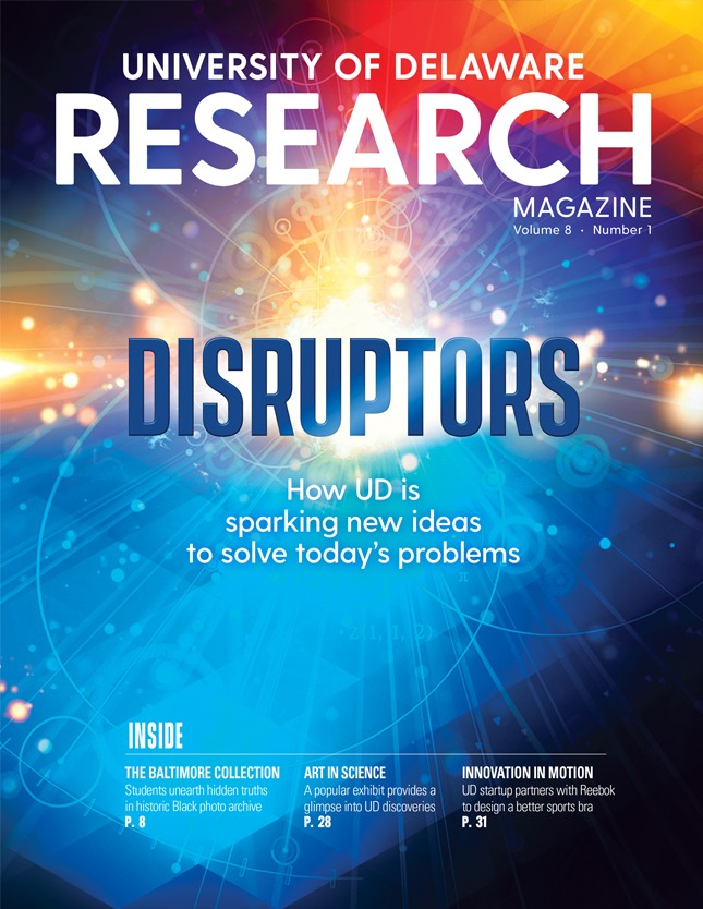 cover of the UD Research Magazine