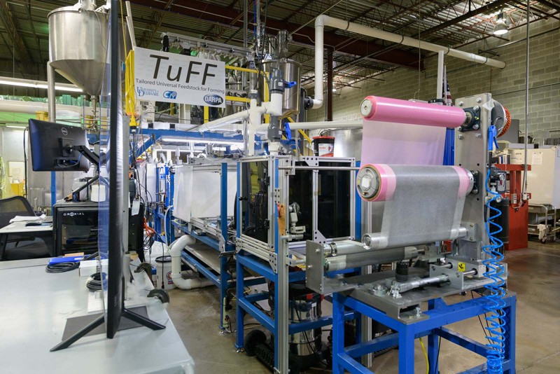 At a scaled pilot facility, UD experts are developing cutting-edge methods to manufacture this promising new material.