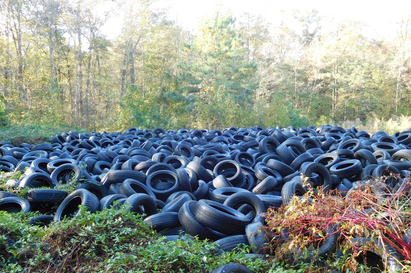 Finding New Uses for Waste Tires