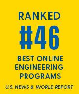 Ranked #46 Best Online Engineering Programs