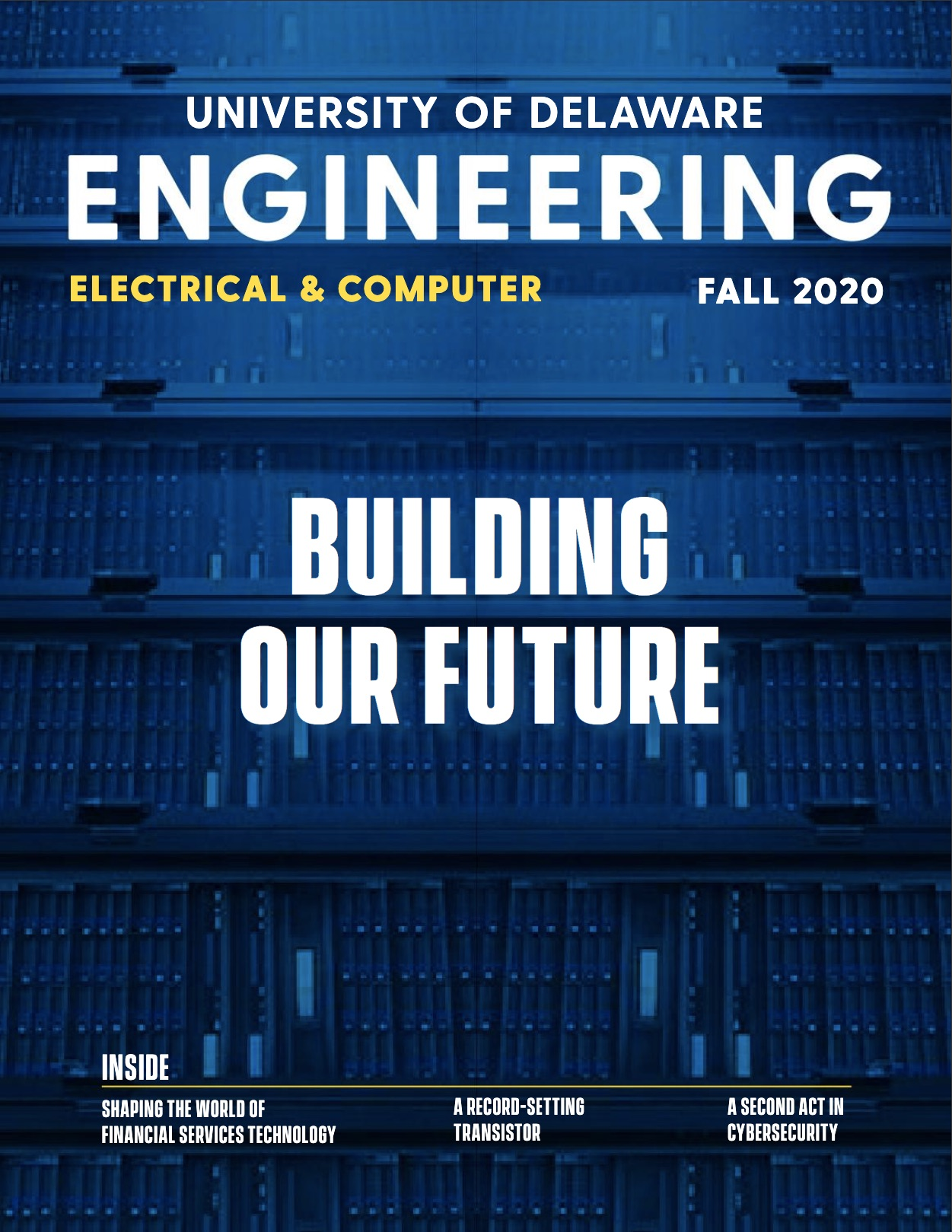 cover of the magazine for the Electrical and Computer Engineering department