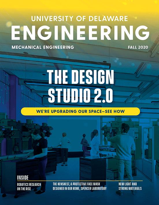 Mechanical Engineering Magazine Cover