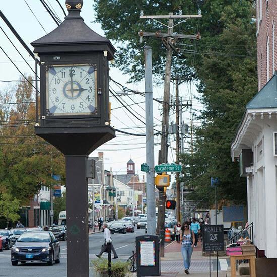 Main Street Newark Clock