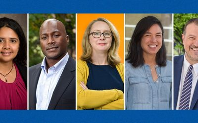 Five scholars in the College of Engineering are honored with named professorships